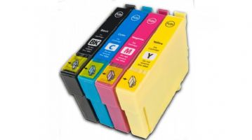 4 Colour Epson 16XL High Capacity 16 Refurbished Ink Cartridge Multipack - (T1631/T1632/T1633/T1634)